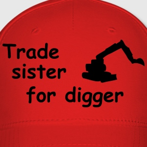 trade sister for digger Kids' Shirts - Baseball Cap