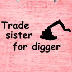 trade sister for digger Kids' Shirts - Women's Flowy Tank Top by Bella