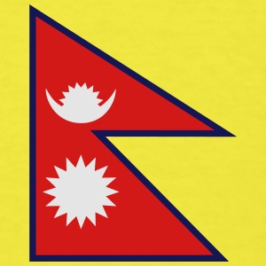 Flag of Nepal - Men's T-Shirt