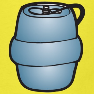 Keg Illustration by Fatty Matty Brewing - Men's T-Shirt