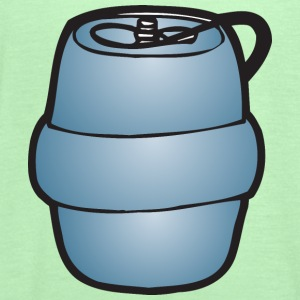 Keg Illustration by Fatty Matty Brewing - Women's Flowy Tank Top by Bella