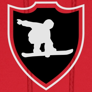 Snowboard shield Women's T-Shirts - Men's Hoodie
