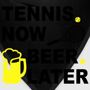 Tennis Now Beer Later Women's T-Shirts - Bandana