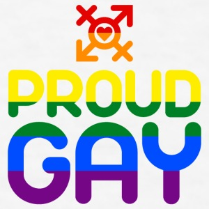 Proud Gay (colored) Accessories - Men's T-Shirt