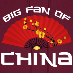 Big Fan Of China - Men's Hoodie