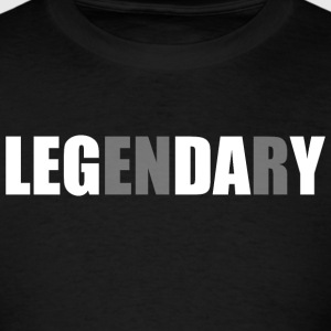 Leg Day - Legendary - Bodybuilding - Men's T-Shirt