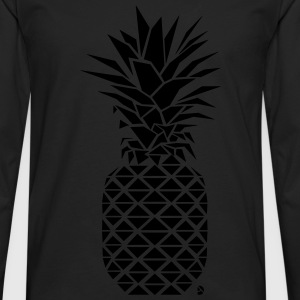 AD Geometric Pineapple Kids' Shirts - Men's Premium Long Sleeve T-Shirt