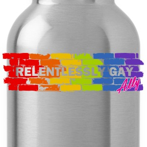 Relentlessly Gay Ally T-Shirts - Water Bottle