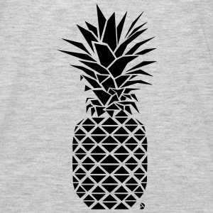 AD Geometric Pineapple Hoodies - Men's Premium Long Sleeve T-Shirt