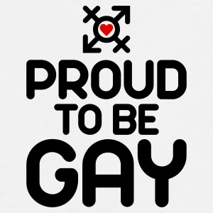 Proud to be Gay (2c) Accessories - Men's Premium T-Shirt
