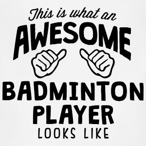 awesome badminton player looks like - Adjustable Apron