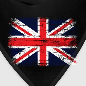 Vintage UK Union Jack Flag Women's T-Shirts - Bandana
