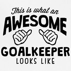 awesome goalkeeper looks like - Adjustable Apron