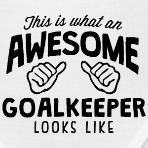awesome goalkeeper looks like - Bandana