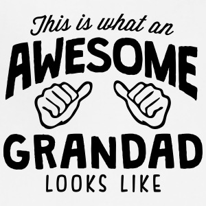 awesome grandad looks like - Adjustable Apron