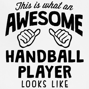 awesome handball player looks like - Adjustable Apron