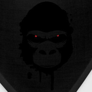 A gorilla head Graffiti T-Shirts - Bandana