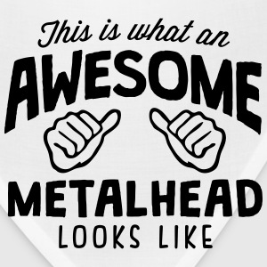 awesome metalhead looks like - Bandana