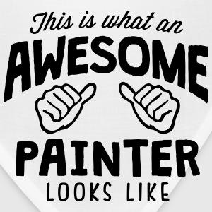 awesome painter looks like - Bandana