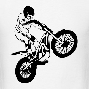 Trial Racing Long Sleeve Shirts - Men's T-Shirt