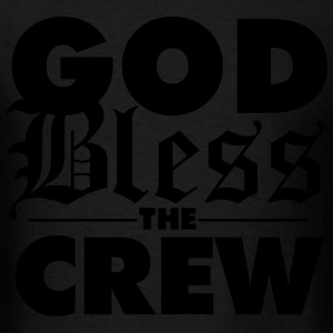 god bless the crew Long Sleeve Shirts - Men's T-Shirt