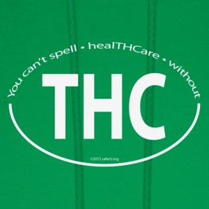 You can't spell healTHCare without THC - White - Men's Hoodie