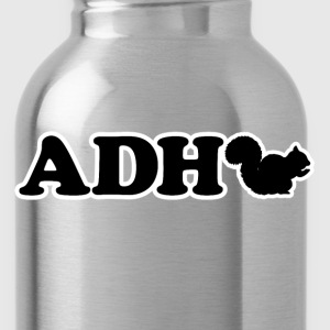 Funny ADHD Squirrel - Water Bottle