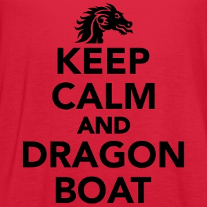 Keep calm and Dragon Boat Women's T-Shirts - Women's Flowy Tank Top by Bella