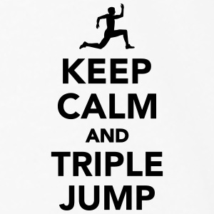 Keep calm and Triple Jump Accessories - Men's Premium Long Sleeve T-Shirt
