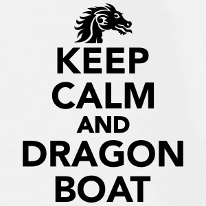 Keep calm and Dragon Boat Accessories - Men's Premium T-Shirt
