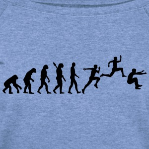 Evolution Triple Jump Women's T-Shirts - Women's Wideneck Sweatshirt