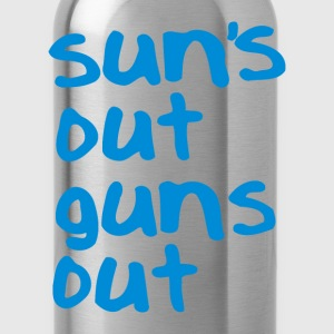 Suns out Guns out (1) - Water Bottle