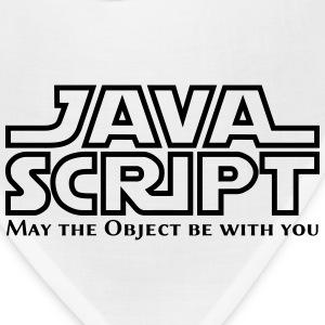 JavaScript - May the Objet be with you (white) - Bandana