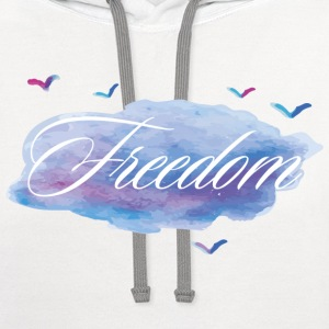 Freedome - Contrast Hoodie
