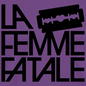 The femme fatale Hoodies - Men's Premium T-Shirt
