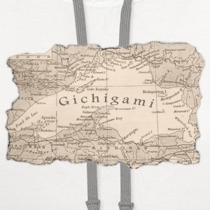 Gichigami Lake Superior Great Lakes T-Shirts - Contrast Hoodie
