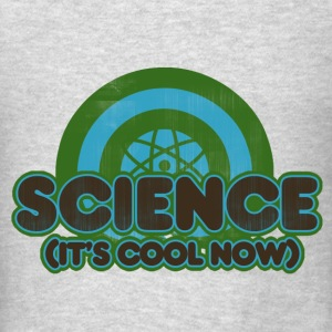 retro science teacher humor - Men's T-Shirt