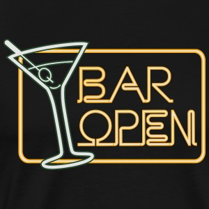 Bar Open Tank Tops - Men's Premium T-Shirt