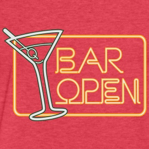 Bar Open Tanks - Fitted Cotton/Poly T-Shirt by Next Level