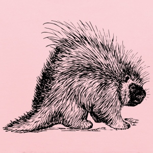 porcupine rodent - Kids' Hoodie