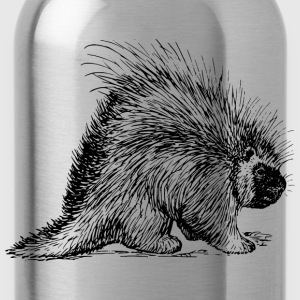 porcupine rodent - Water Bottle