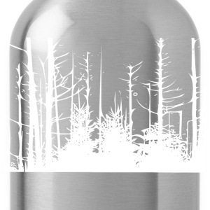 Forest Trees T-Shirts - Water Bottle