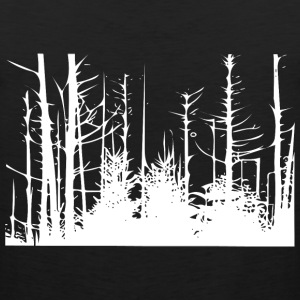 Forest Trees T-Shirts - Men's Premium Tank