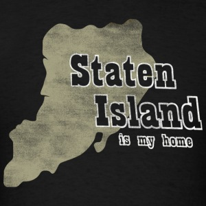 Staten Island Is My Home New York Long Sleeve Shirts - Men's T-Shirt