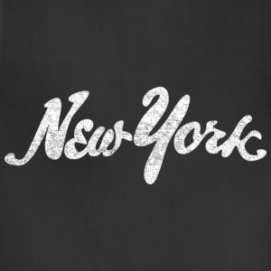 Distressed New York Drawn Hoodies - Adjustable Apron
