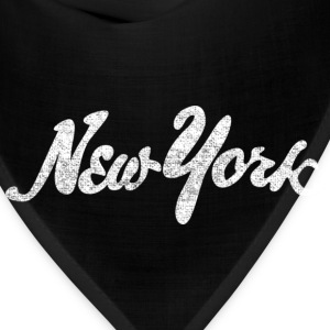Distressed New York Drawn Hoodies - Bandana