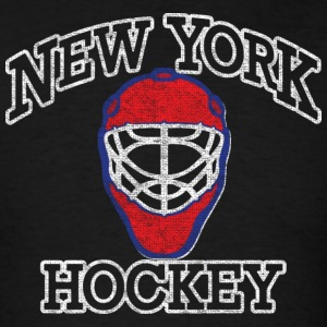 New York Goalie Hockey Mask Hoodies - Men's T-Shirt