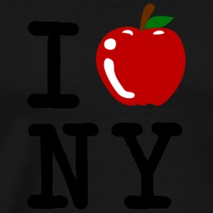 I Apple New York City Hoodies - Men's Premium T-Shirt