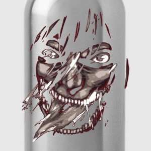 kyojin titan smile - Water Bottle
