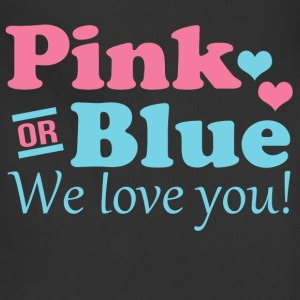 Pink or Blue We Love You Women's T-Shirts - Adjustable Apron